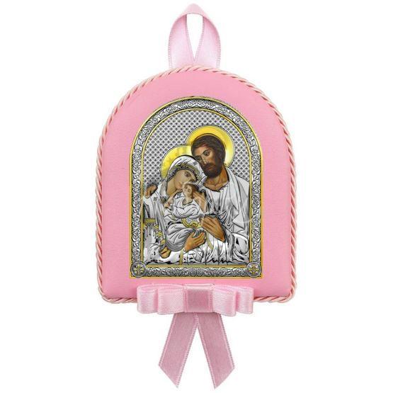 """Икона детская """"Святое Семейство"""" для девочки 6390OR"""