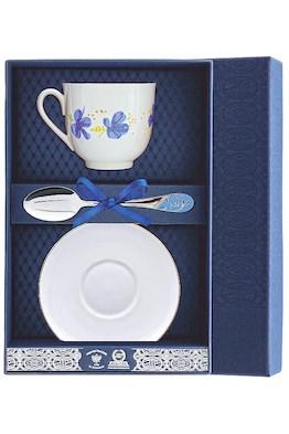 Набор чайный «Ландыш-Голубые цветы»