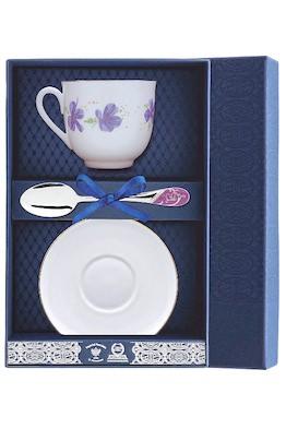 Набор чайный «Ландыш-Сиреневые цветы»
