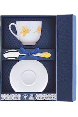 Набор чайный «Ландыш-Желтые цветы»