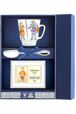 "Набор чайный ""Майская - Балет Дон Кихот"" с рамкой д/фото 3 пр.+футляр"