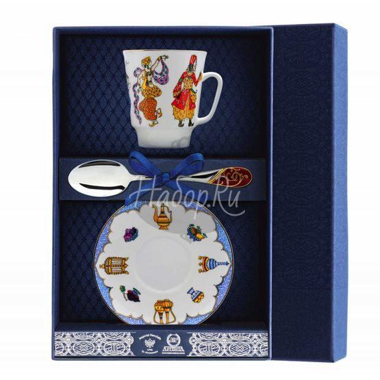 "Набор фарфоровый чайный ""Балет Шахерезада"" 020Ф03"