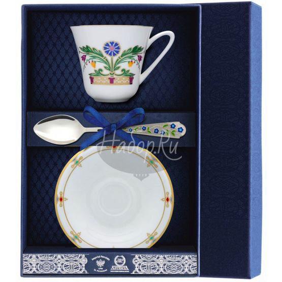 """Набор фарфоровый чайный """"Замоскворечье"""" 029Ф03"""