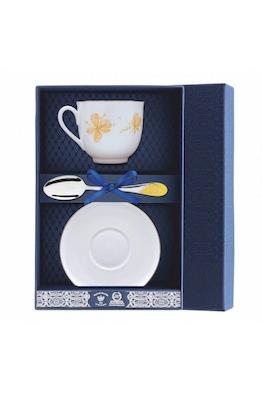 """Набор фарфоровый чайный """"Жёлтые цветы"""""""