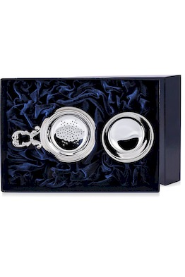 Набор серебряное ситечко для чая «Инглезе»
