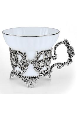 Серебряная чайная чашка «Симфония»