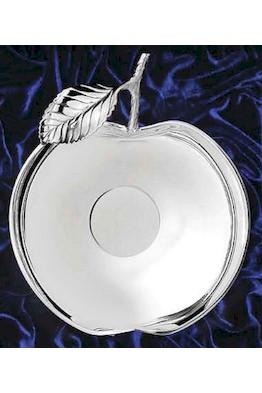 """Серебряная ваза """"Яблоко"""""""