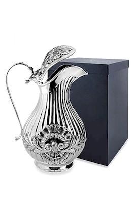 Серебряный кувшин «Раковина» с крышкой