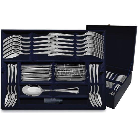 Серебряный столовый набор «Элегант» 48 предметов