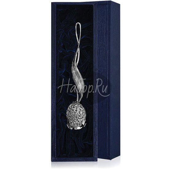 Серебряное ситечко «Тюльпан»