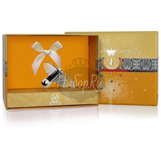 Сувенирная серебряная пустышка 330CB05801
