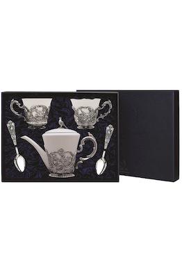 """Набор """"Королевская охота"""": ложки, чашка, чайник"""