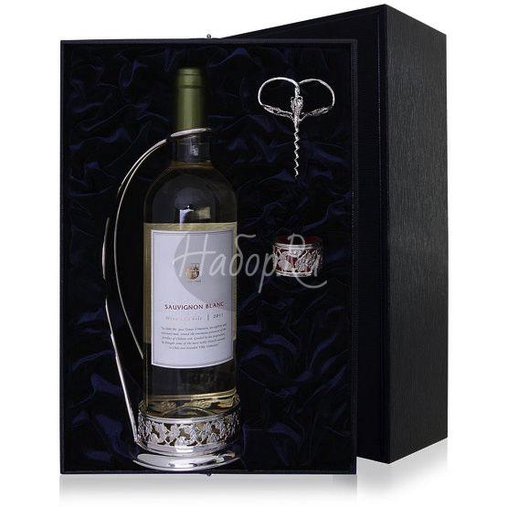 "Набор ""Виноград"" винный (3 пр. подст + штопор + кольцо) 1054НБ00801"