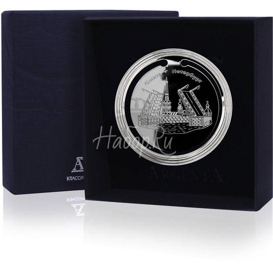 """Закладка для книг с логотипом """"Санкт-Петербург"""" 290ЗК22801_сп"""