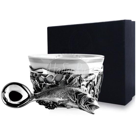 """Набор для специй """"Рыба"""" с чернением 614НБ00806"""