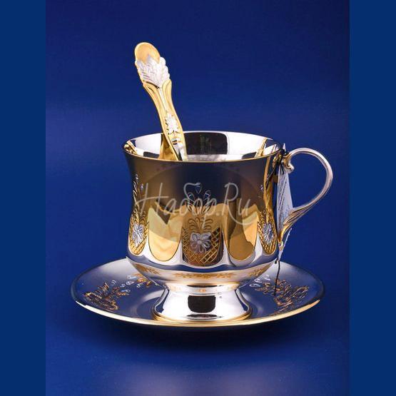 Чашка с блюдцем №4 (арт. С33687700425)