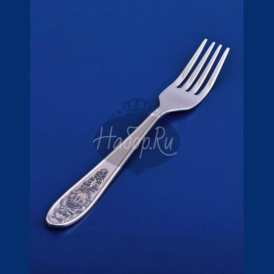Детская серебряная вилка №21 (арт. С33681202525)