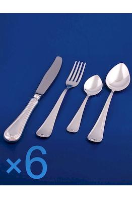 Набор столового серебра на 6 персон №16