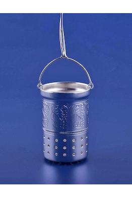 Серебряное ситечко для чая №4
