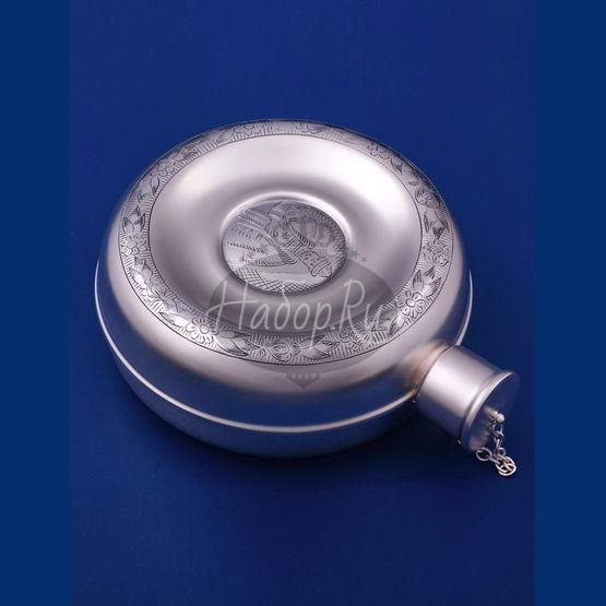 Серебряная фляжка №1 (арт. С33683200125)