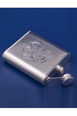 Серебряная фляжка №29