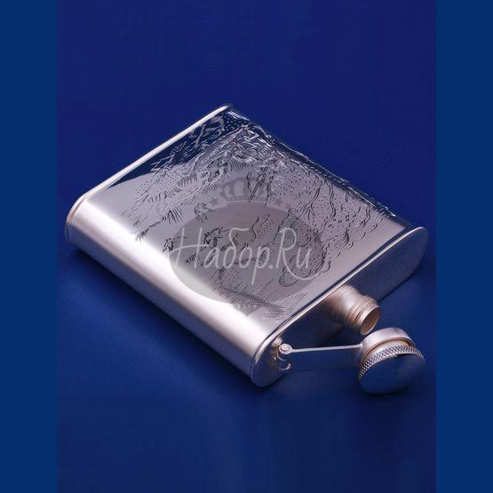 Серебряная фляжка №9 (арт. С33683200925)