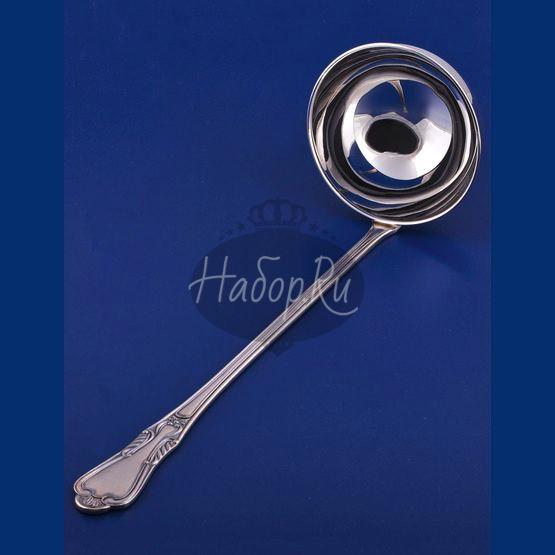 Серебряная ложка разливательная (половник) №22 (арт. С33682301125)