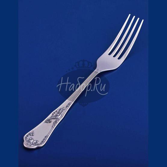 Серебряная столовая вилка №10 (арт. С33681100625)
