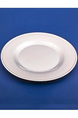 Серебряная тарелка закусочная №12