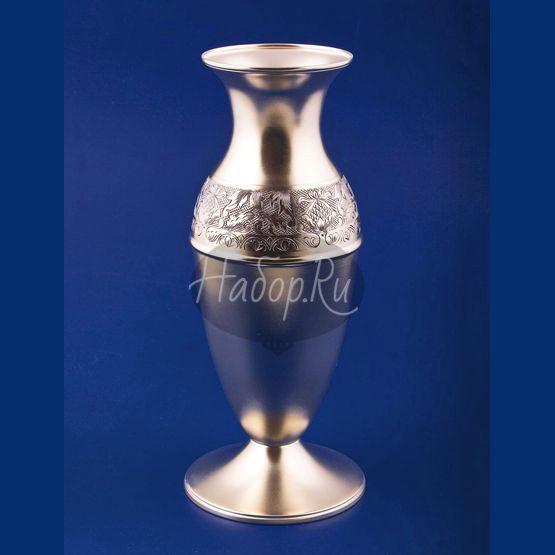 """Серебряная ваза для цветов """"Ривьера"""" (арт. С 336843040)"""