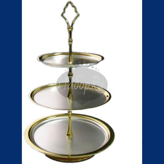Серебряная ваза для фруктов №10 (арт. С33684301025)