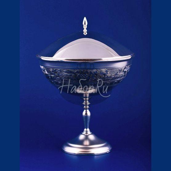 Серебряная ваза для варенья №11 (арт. С33684301125)