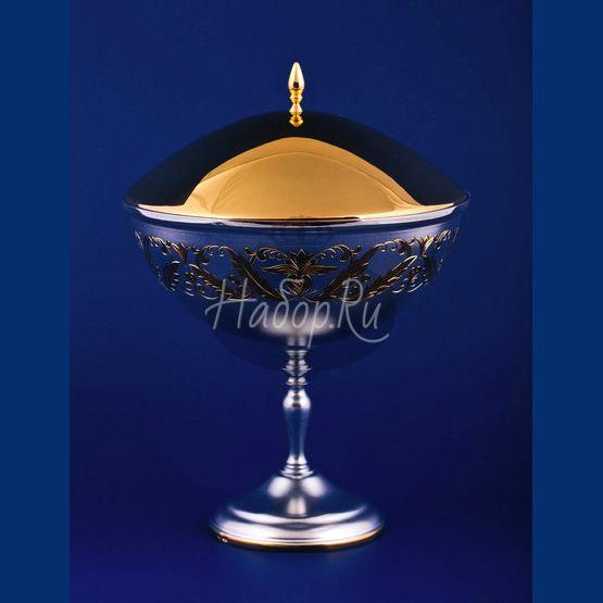 Серебряная ваза для варенья №12 (арт. С33684301225)