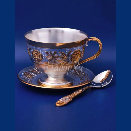 Серебряный чайный набор №3 (арт. C 33687400325)