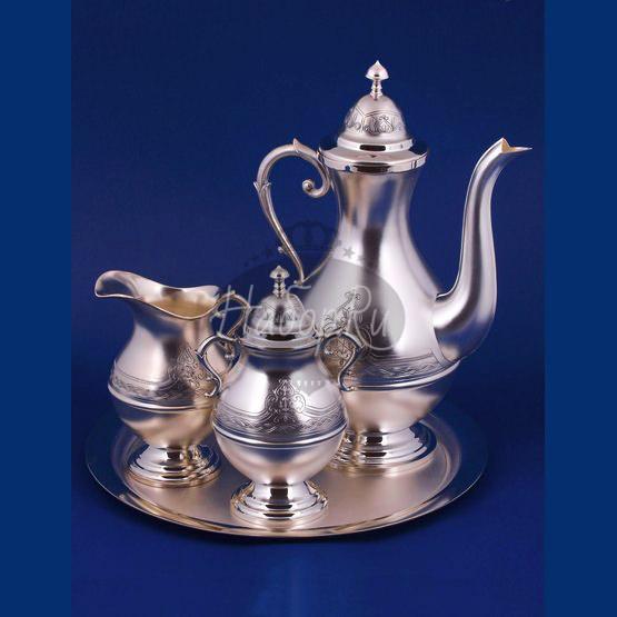 Серебряный кофейный набор №15 (арт. С33687101525)