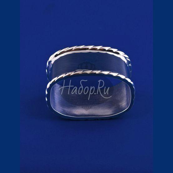 Серебряное кольцо для салфеток №9 (арт. С 33684600925)
