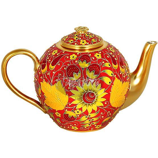 """Чайник  """"Хохлома"""" (арт. 27395)"""
