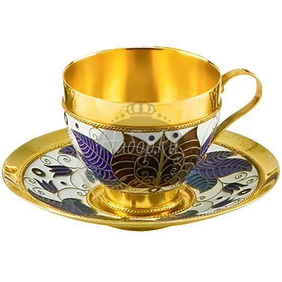 Чашка с блюдцем (арт. 33008)