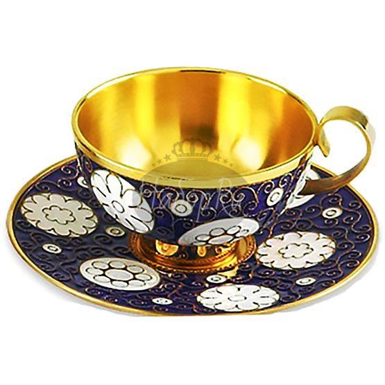 Чашка с блюдцем (арт. 33045)