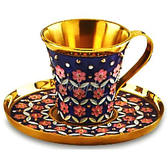 Чашка с блюдцем (арт. 33086)
