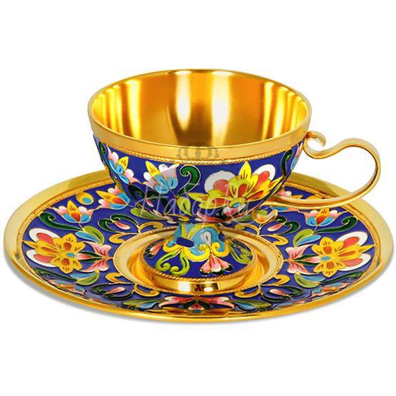 Чашка с блюдцем (арт. 33320)