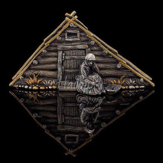 Салфетница «Землянка» (арт. 7006)