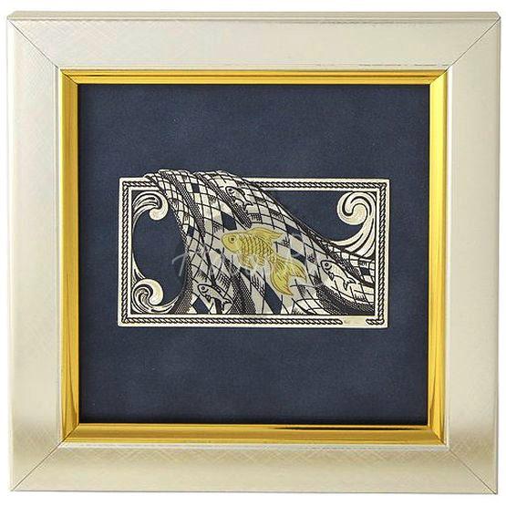 "Декоративное  панно ""Золотая рыбка"" (арт. 50320083А12)"