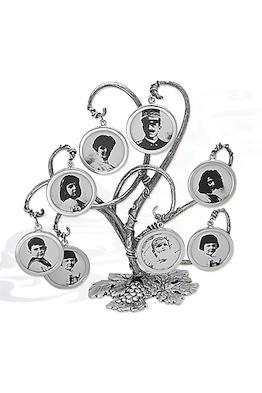 Семейное дерево из 8 портретов